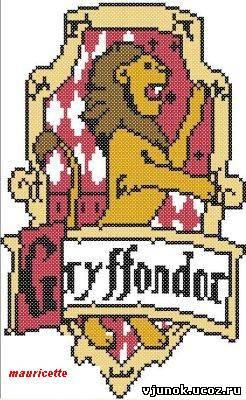 Схема гриффиндор вышивка
